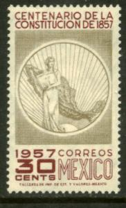 MEXICO 901, 30c Centenary of the Constitution. UNUSED, HINGED, OG. VF.