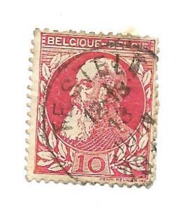 Belgium 1905 - U - Scott #85 *