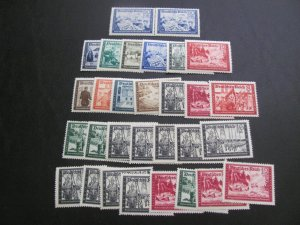 GERMANY 19389-41 MNH SC# B148/159 CONFERENCES  LOT (115)