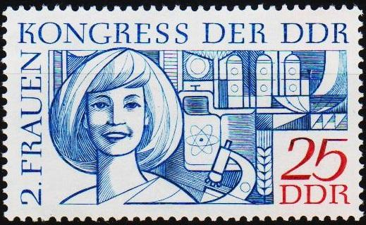 Germany(DDR).1969 25pf S.G.E1196 Unmounted Mint