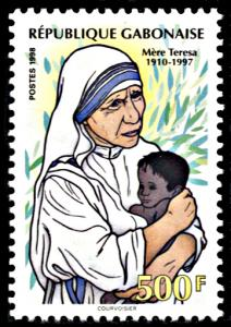 Gabon 927, MNH, Mother Teresa of Calcutta