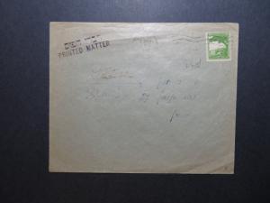 Palestine 1944 Cover Tel-Aviv to Spain / Light Creasing - Z11393