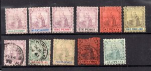 Trinidad QV mint and used collection WS20793