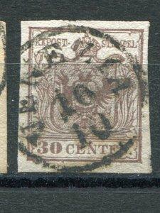 Lombadi Venetia #5a  ribbed paper used VF -  Lakeshore Philatelics