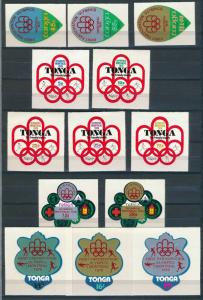 Tonga - Montreal Olympic Games MNH Set (1976)