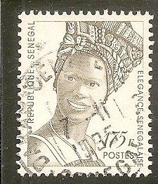 Senegal   Scott 1161   Fashion   Used