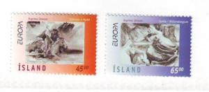 Iceland Sc 844-5 1997 Europa Legends stamp set mint NH