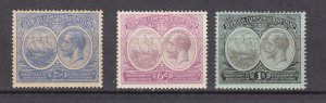 J26610 JLstamps 1920-1  bermuda mh # 60,68-9 king/seal colony