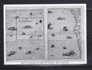 St Helena 352 MNH Maps