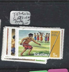 TOKELAU ISLANDS  (P0408B) SPORTS  SC 97-102  MNH
