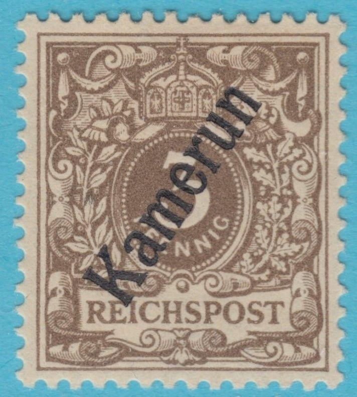 GERMAN COLONIES CAMEROUN 1B MINT HINGED * OG NO FAULTS VERY FINE !