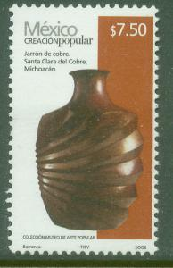 MEXICO 2500a, $7.50P HANDCRAFTS 2006 ISSUE. MINT, NH. F-VF.