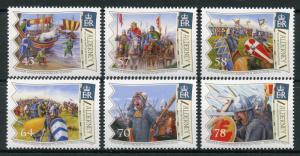Alderney 2016 MNH Battle of Hastings 950 Yrs 6v Set William the Conqueror Stamps