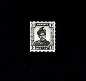BRUNEI - 1952 - SULTAN OMAR SAIFUDDIN - MINT - MNH SINGLE!