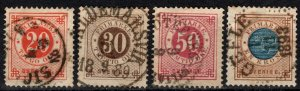 Sweden #46-9  F-VF Used CV $11.00 (X5360)