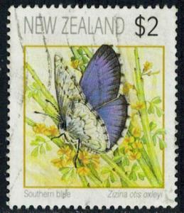 New Zealand Scott 1076 Used.