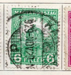 Hungary 1926 Early Issue Fine Used 6f. 098272