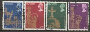 Great Britain SG 1059 - 1062 set Used