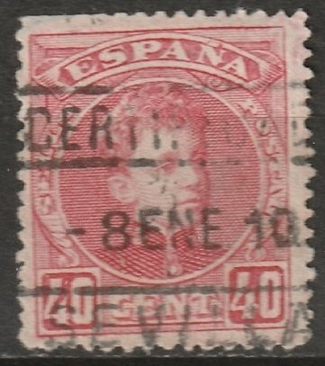 Spain 1905 Sc 282 used