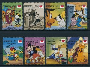 [22235] Dominica 1997 Disney Characters and a kiss MNH