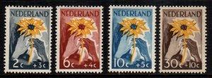 Netherlands  b199 - b202    MNH cat $  10.00