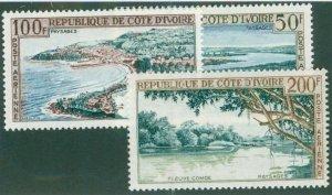 Ivory Coast C22-24 MH CV$ 11.50 BIN$ 5.75
