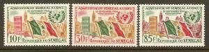 Senegal #207-9 NH U.N.