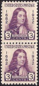 724 Mint,OG,NH... Pair... SCV $1.20