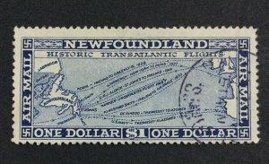 MOMEN: NEWFOUNDLAND #194 NO WMK USED £95 LOT #7007