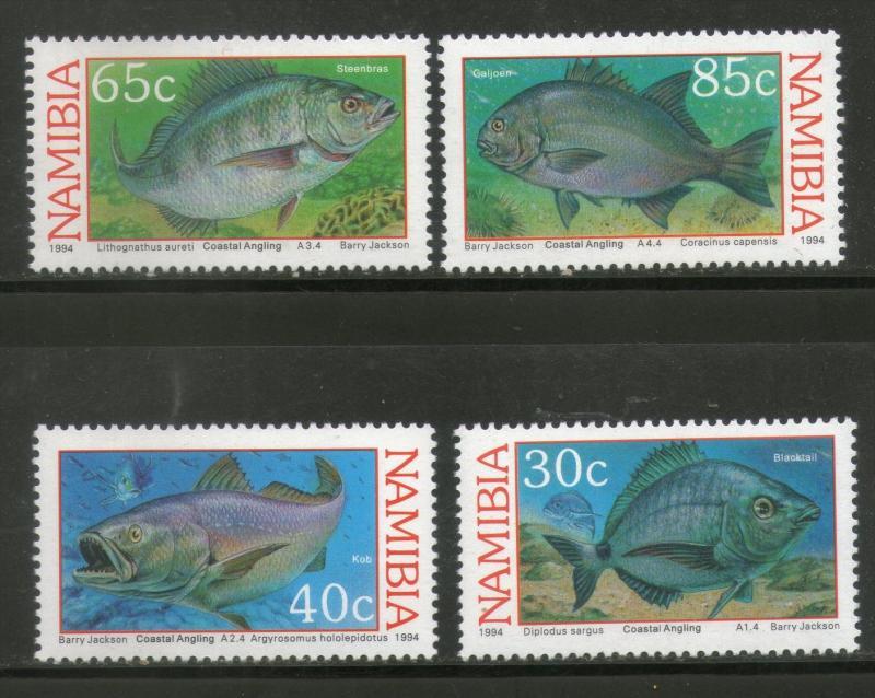 Namibia MNH 755-8 Fish 1994