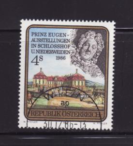 Austria 1343 Set U Prince Eugen and Schlosshof Castle (B)