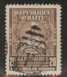 Haiti  Scott C46 Used 1947 Dessalines stamp