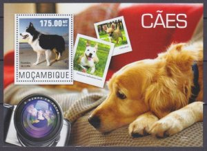 2014 Mozambique 7624/B964 Dogs 10,00 €