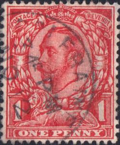 GB/N.Ireland - KGV - 1912 - SG342 1d used  COLERAINE  CDS