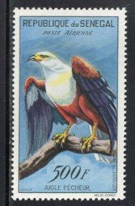Senegal 1960 Birds 500Fr High Value MNH #C30
