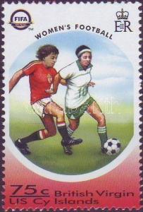 British Virgin Islands stamp 100th anniversary of FIFA, womens football WS15591