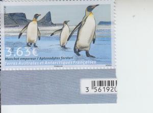 2017 FSAT (TAAF) Emperor Penguin (Scott 572) MNH