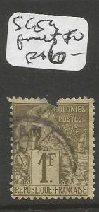 French Colonies SC 59 Fault at top Used (2ckv)