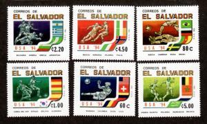 El Salvador 1368-1373 Mint NH MNH!