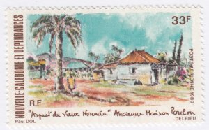 New Caledonia, Sc C167, MNH, 1980, View of Old Naumea