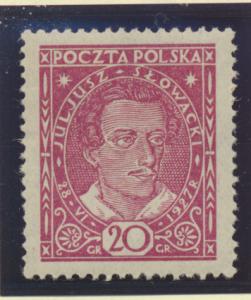 Poland Stamp Scott #249, Mint Hinged - Free U.S. Shipping, Free Worldwide Shi...