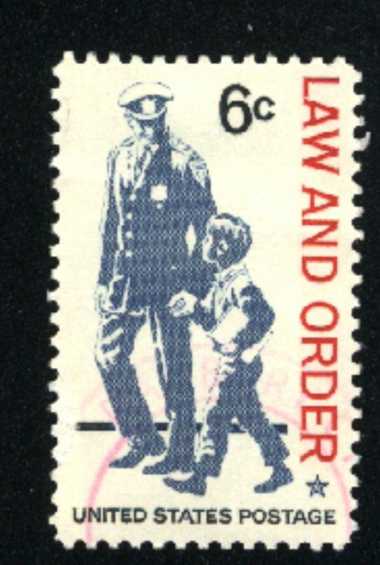 USA #1343   Used 1968 PD