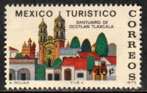 MEXICO 1014, TOURISM PROMOTION, SANCTUARY, OCOTLAN, TLAXCALA. MINT, NH  F-VF.