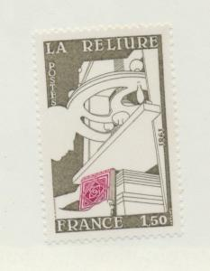 France Scott #1739, Bookbinding Issue From 1981, Collectible Postage Stamps, ...