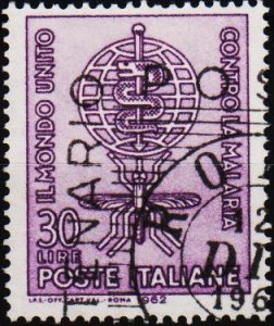 Italy. 1962 30L S.G.1084 Fine Used