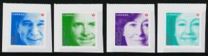 Canada 2550-3 MNH Difference Makers, Hansen, Fox, Arbour, Watt-Cloutier