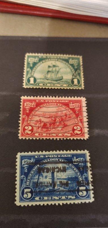 US Scott 614-616 Used