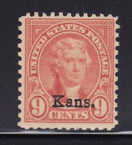 667  F-VF original gum mint never hinged nice color cv $ 28 ! see pic !