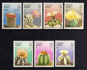 LAOS 1986  MNH SC.737/743 Cactus