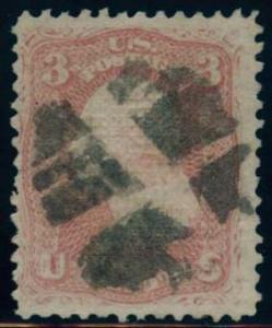 US Scott #85 Used, FVF, PSE